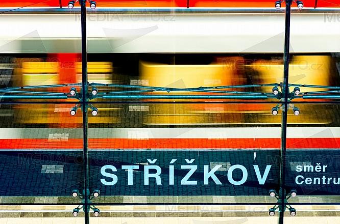 metro, stanice, Střížkov