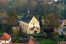 Kostel sv. Václava, Rovensko pod Troskami