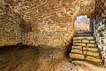 Kumburk, interier, klenba, hrad