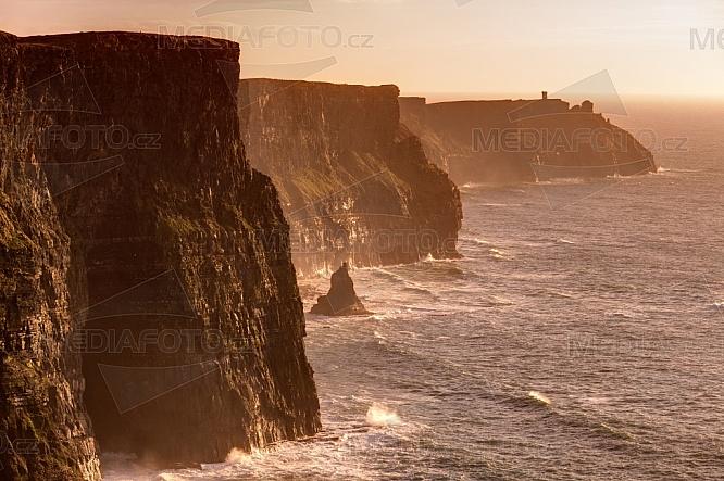 Cliffs of Moher, Moherské útesy, Atlantský oceán