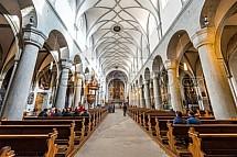 Chrám Matky Boží, Kostnice, Německo.