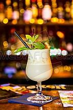 Piňa colada, koktejl, bar, alkohol, drink