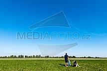 Letectví, zábava, L - 39 Albatros, Breitlig Jet Team, diváci