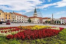 Velké náměstí, zámek, Kroměříž