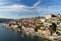 Porto, řeka, nábřeží