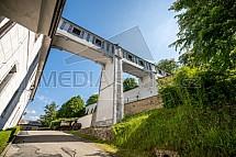 Zámek Český Krumlov, plášťový most
