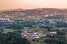 Benátská Noc, Liberec, Vesec, letecky