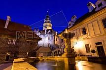 Český Krumlov, zámek, fontána