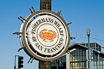Fishermans Wharf, San Francisco, Kalifornie, USA