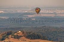 Horkovzdušný balón, Český Ráj, Vyskeř