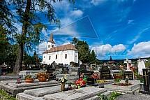 Kostel Navštívení Panny Marie, hřbitov