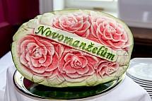 Meloun, svatba