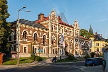Budova TJ Lokomotiva Liberec