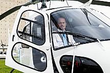 Daniel Tuček, pilot, vrtulník, letectví, Eurocopter, AS 350