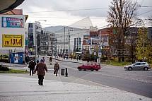 Liberec, Rybníček, ulice 1. Máje