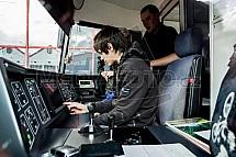 EVO2, tramvaj, kabina, řidič, palubní deska