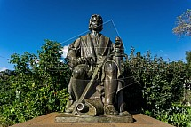 Kryštof Kolumbus, socha