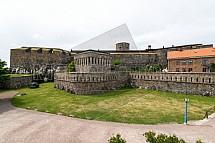 Pevnost Carlstens Fästning, Marstrand, Švédsko