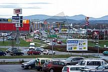Slevy, výprodej, obchodní centrum, Liberec