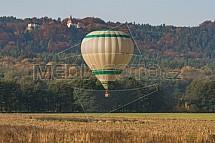 Horkovzdušný balón, hrad Valdštejn