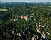 Hrubá Skála, skalní město, zámek, Český ráj