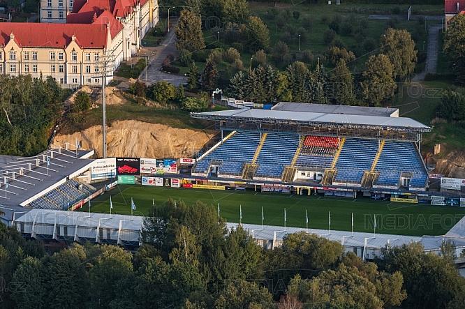 Stadion FC Slovan Liberec, letecky