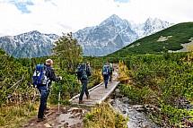 Vysoké Tatry, turistika, nordic walking
