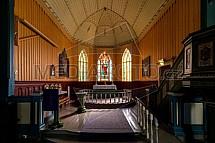 Hemsedal kyrkje, kostel, Norsko