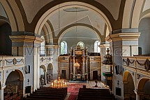 Evanjelický kostel, interier