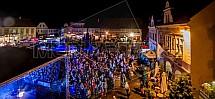Sobotka, náměstí Míru, koncert