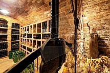 Valtické podzemí, sklep, vinařství, lahev
