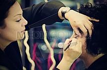 vizážistka, líčení, makeup