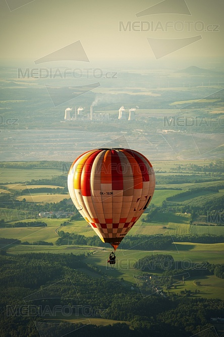 Horkovzdušný balon, elektrárna, Turow