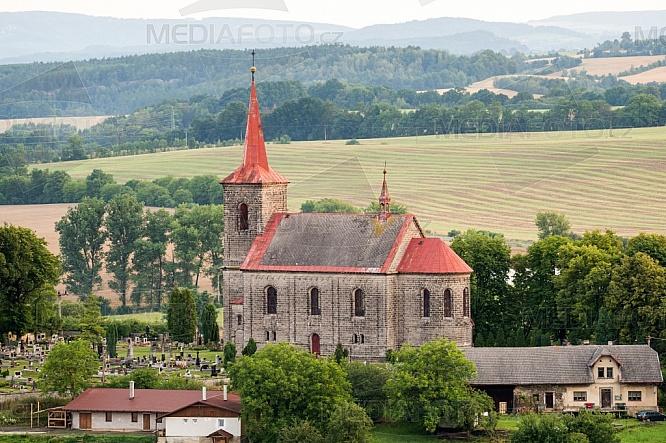 Kostel sv. Jana Křtitele, Újezd pod Troskami