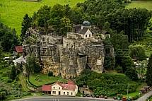 Skalní hrad, Sloup v Čechách