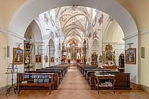 Kostel Všech svatých, Litoměřice, interier