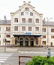 Nádraží, ČD, Liberec, stanice, budova