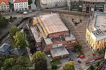 Dům kultury Liberec, letecky