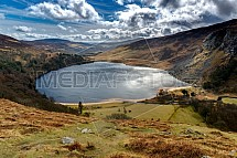 Jezero Lough Tay, Wicklow Mountains, Irsko