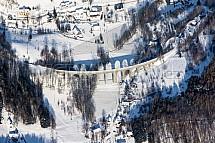 Viadukt, železnice, Kryštofovo údolí, Novina