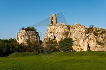 Zřícenina, hrad, Sirotčí hrádek