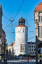 Dicker turm, Fat Tower, Marienplatz, Görlitz