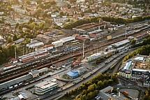 Nádraží Liberec, letecky