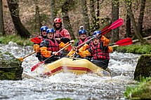 Kamenice, vodák, řeka, raft, sjezd