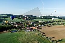 Chotilsko, horkovzdušné balony