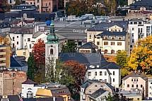 Kostel sv. Anny, OC Central, Jablonec nad Nisou