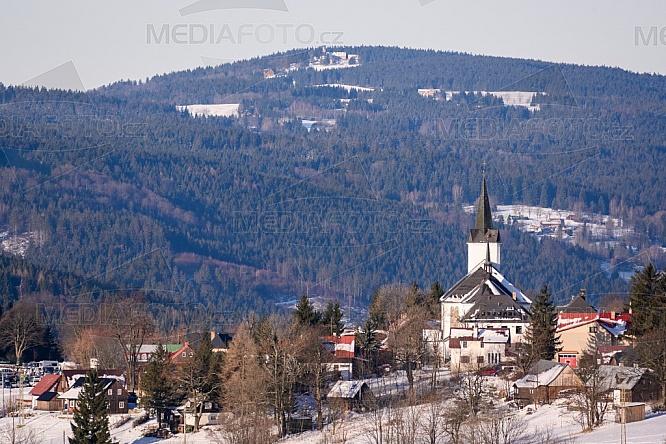 Kostel sv. Víta, Příchovice, Jizerské hory