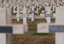 Verdun, hřbitov, kříž