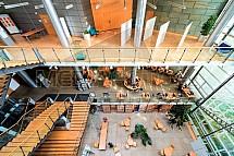 Krajská vědecká knihovna Liberec, interier