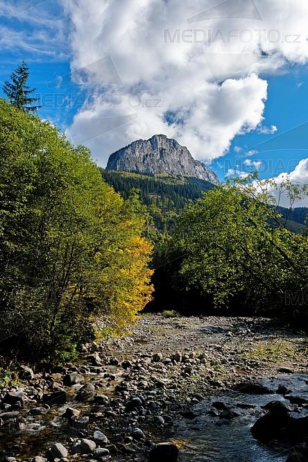 Belianské Tatry, Zadné Meďodoly, hory, podzim